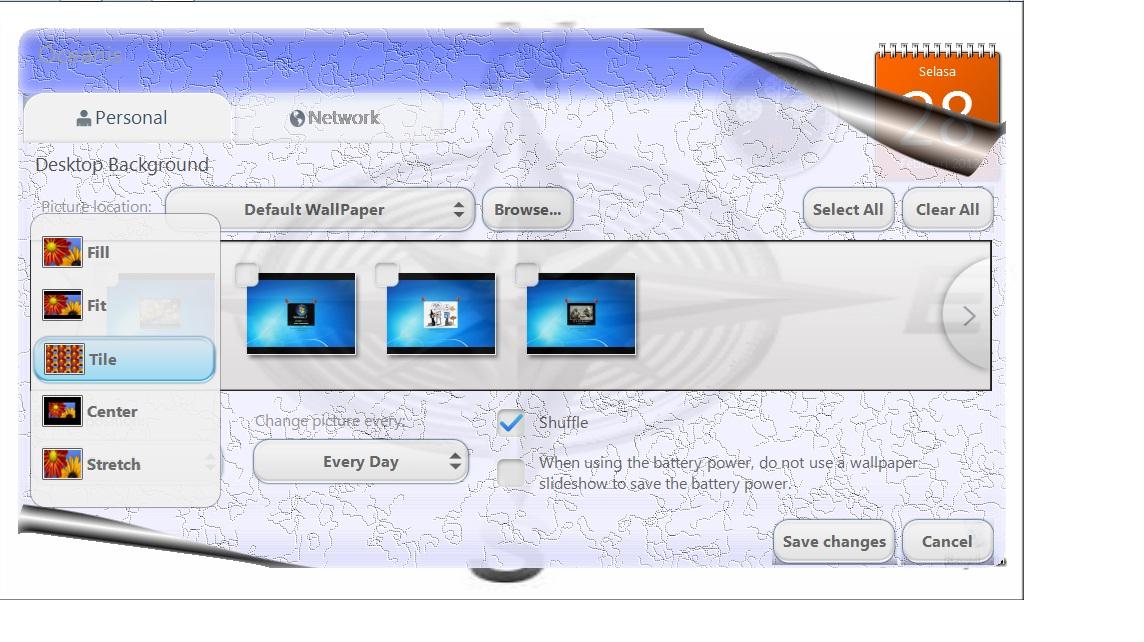 Oceanis change background w7 software tambahan untuk - Windows 7 wallpaper changer software ...